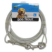 Cider Mill - Dog Tie Out - Clear - 15 Feet