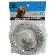 Cider Mill - Dog Tieout Trolley - Clear - 50 Feet
