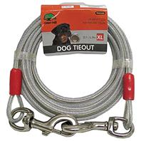 Cider Mill - Dog Tieout - Clear - 20 Feet