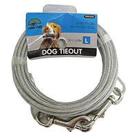 Cider Mill - Dog Tie Out - Clear - 20 Feet