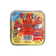 C AND S Products - Party Mix Suet - 11 oz
