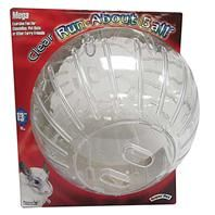 Super Pet - Mega Run-about Ball - Clear - 13 Inch Diameter
