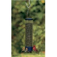 Droll Yankees - Yankee Whipper Squirrel Proof Bird Feeder - Blue