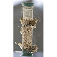 Droll Yankees - New Generation Peanut Feeder - Green - 13 Inch
