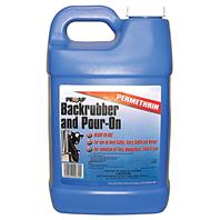 Chemtech - Prozap Backrubber & Pour-On - Blue - 2.5 Gallon