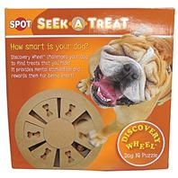 Ethical Dog - Seek-A-Treat Discovery Wheel Puzzle - Assorted