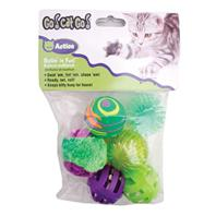 Our Pets - Rollin In Fun Multi pack - Small - 6 Piece