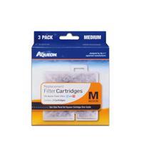 All Glass Aquarium - Aqueon Supplies - Aqueon Filter Cartridge - Medium - 3 Pack