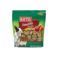 Kaytee Products - Timothy Hay Baked Small Animal Treat - Apple - 4 oz