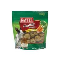Kaytee Products - Timothy Hay Baked Small Animal Treat - Carrot - 4 oz