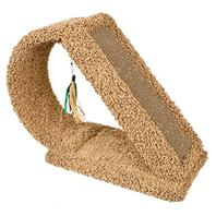 Ware Mfg - Kitty Scratch Tunnel With Corrugate - Brown - 9.5X23X18.5 Inch
