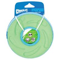 Chuckit - Amphibious Flying Ring - Green - Small