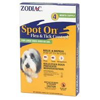 Farnam - Spot On Flea and Tick 3cc 4 Pack - Large - 60 Lb