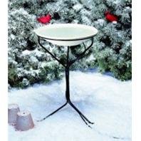 Allied Precision - Bird Bath Heated With Stand - 20 Inch
