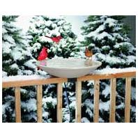 Allied Precision - Heated Bird Bath With Ex-Tilt Deck Mount - BEIGE 20 INCH/150WATT
