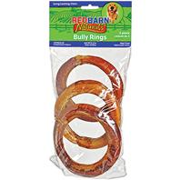 Redbarn Pet Products - Naturals Bully Rings - 3 Pack