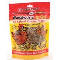 Unipet USA - Hentastic Mealworm To Go Chicken Treats - 3.5 oz