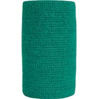 Andover Healthcare - Coflex-Vet Bandage - Hunter Green - 4 Inch X 5 Yard