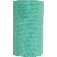 Andover Healthcare - Coflex-Vet Cohesive Bandage - NEON GREEN 4 INCHX5 YARD