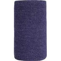 Andover Healthcare - Coflex-Vet Cohesive Bandage -  PURPLE 4 INCHX5 YARD
