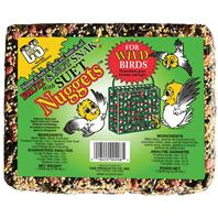 C AND S Products - Fruit & Nut Snak With Suet Nuggets - 2.25 Lb