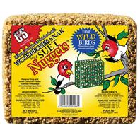 C AND S Products - Woodpecker Snak With Suet Nuggets - 2.4 Lb