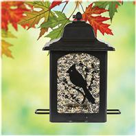 Woodstream WildBird - Birds And Berries Lantern Feeder - Black - 5 Lb
