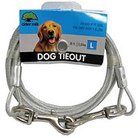 Cider Mill - Dog Tie Out Clear - 10 Feet