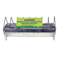 Ware Mfg - Chicken Trough Feeder - Steel - 16 Inch