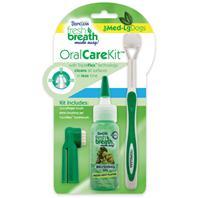 Tropiclean - Fresh Breath Oral Care Kit - Medium/Large