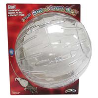 Super Pet - Run-About Ball - Clear - Giant/11.5 Inch Diameter