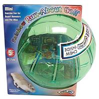 Super Pet - Mini Run-About Ball - Assorted - Mini - 5 Inch Diameter