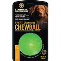 StarMark - Treat Dispensing Chew Ball - Green - Medium/Large