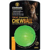 StarMark - Treat Dispensing Chew Ball - Green - Large