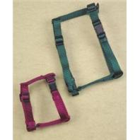 Hamilton Pet - Adjustable Comfort Nylon Harness - Hunter Green - 3/8 x 10-16 Inch