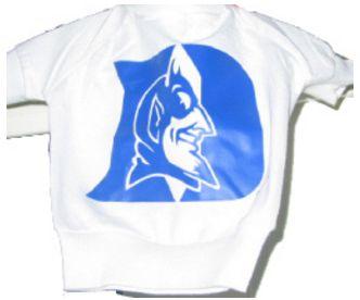 DoggieNation-College - Duke Dog Tee Shirt - White - Petite