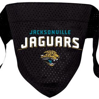 DoggieNation-NFL - Jacksonville Jaguars Dog Bandana - Small