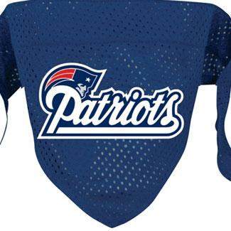 DoggieNation-NFL - New England Patriots Dog Bandana - Small