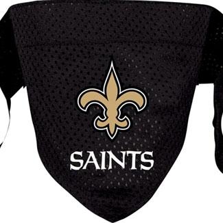 DoggieNation-NFL - New Orleans Saints Dog Bandana - Small