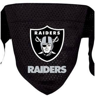 DoggieNation-NFL - Oakland Raiders Dog Bandana - Large