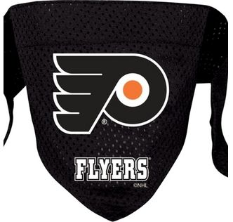 DoggieNation-NHL - Philadelphia Flyers Dog Bandana - Large