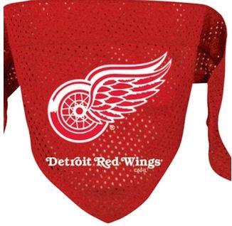 DoggieNation-NHL - Detroit Red Wings Dog Bandana - Large