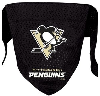 DoggieNation-NHL - Pittsburgh Penguins Dog Bandana - Large