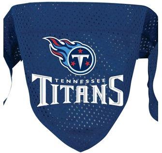 DoggieNation-NFL - Tennessee Titans Dog Bandana - Large