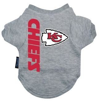DoggieNation-NFL - Kansas City Chiefs Dog Tee Shirt - Xtra Large
