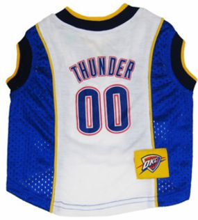 DoggieNation-NBA - Oklahoma City Thunder Dog Jersey - Xtra Small