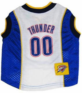 DoggieNation-NBA - Oklahoma City Thunder Dog Jersey - Large