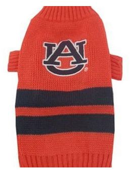 DoggieNation-College - Auburn Dog Sweater - Large