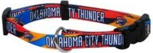 DoggieNation-NBA - Oklahoma City Thunder Dog Collar - Medium