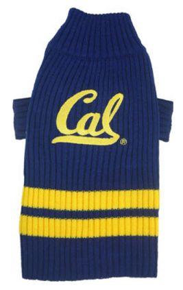 DoggieNation-College - California Berkeley Dog Sweater - Large
